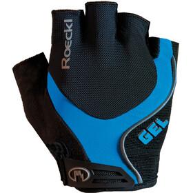 Roeckl Imuro Cykelhandsker blå/sort